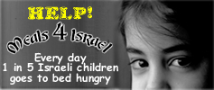 Please help feed the hungry children of Israel